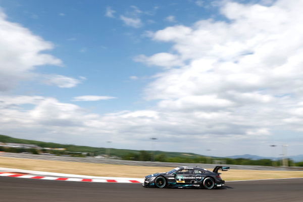 2017 DTM Round 3 Hungaroring, Budapest, Hungary. Sunday 18 June 2017. Robert Wickens, Mercedes-AMG Team HWA, Mercedes-AMG C63 DTM World Copyright: Alexander Trienitz/LAT Images ref: Digital Image 2017-DTM-R3-HUN-AT2-1348
