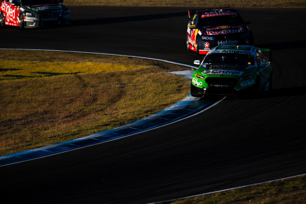 2017 Supercars Championship Round 8.  Ipswich SuperSprint, Queensland Raceway, Queensland, Australia. Friday 28th July to Sunday 30th July 2017. Mark Winterbottom, Prodrive Racing Australia Ford.  World Copyright: Daniel Kalisz/ LAT Images Ref: Digital Image 290717_VASCR8_DKIMG_10118.jpg