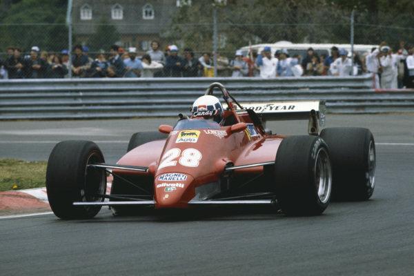 1982 Canadian Grand Prix  Montreal, Quebec, Canada. 11-13 June 1982.  Didier Pironi, Ferrari 126C2.  Ref: 82CAN05. World copyright: LAT Photographic
