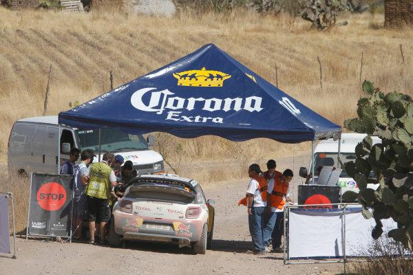 Round 2, Rally of Mexico, 3rd-6th March 2011Sebastien Loeb, Daniel Elena, Citroen DS3 WRC, Action, Worldwide Copyright: McKlein/LAT