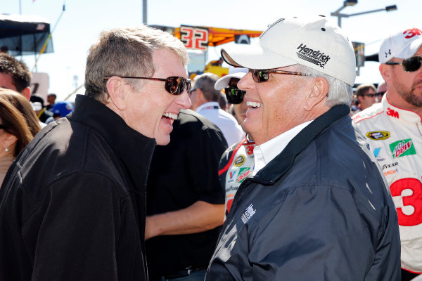 6-8 October, 2016, Concord, North Carolina USA Bill Elliott and Rick Hendrick ?2016, Russell LaBounty LAT Photo USA