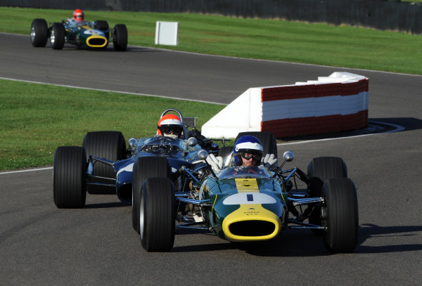 2016 Goodwood Revival Goodwood Estate, West Sussex,England 9th - 11th September 2016 Return to Power F1 Parade  World Copyright : Jeff Bloxham/LAT Photographic Ref : Digital Image
