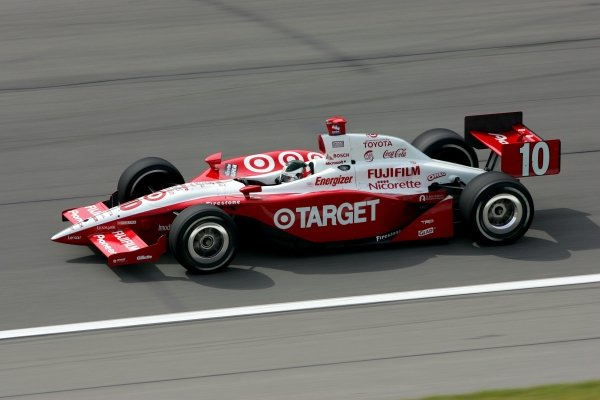 Darren Manning (GBR), Target Ganassi Racing Panoz Toyota, qualified fifth for the Argent Mortgage Indy 300. 