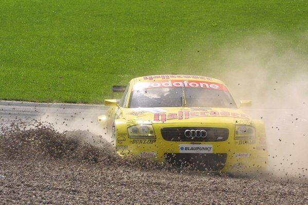 Martin Tomcyzk (GER) ended his race in the gravel.German Touring Car Championship, Sachsenring, Germany, 2 June 2002DIGITAL IMAGE