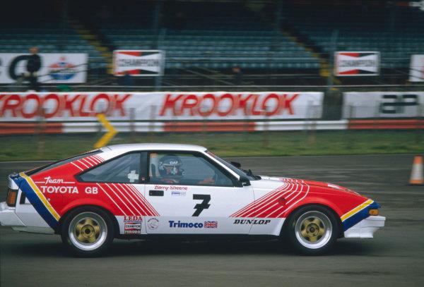 Barry Sheene 1950 - 20031985 British Touring Car Championship, Toyota SupraWorld Copyright - LAT Photographic
