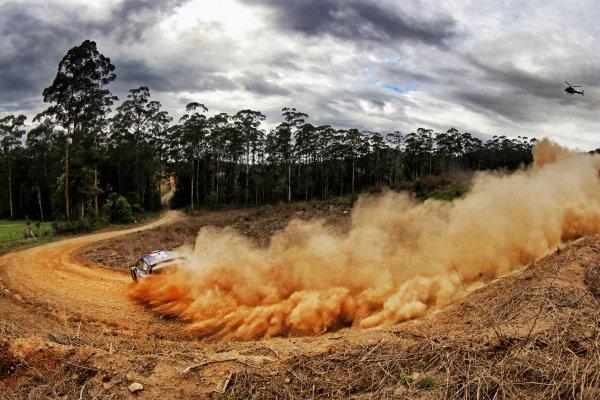 Sebastien Ogier (FRA) / Julien Ingrassia (FRA), M-Sport World Rally Team Ford Fiesta WRC at World Rally Championship, Rd13, Rally Australia, Day One, Coffs Harbour, New South Wales, Australia, 17 November 2017.