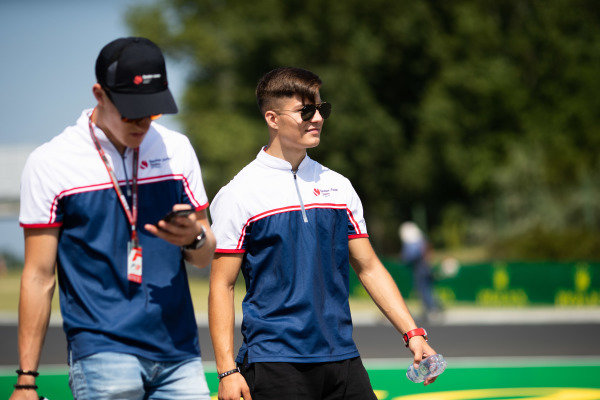 HUNGARORING, HUNGARY - AUGUST 01: Lirim Zendeli (DEU, Sauber Junior Team by Charouz) during the Hungaroring at Hungaroring on August 01, 2019 in Hungaroring, Hungary. (Photo by Joe Portlock / LAT Images / FIA F3 Championship)