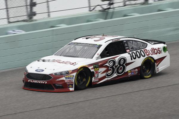 #38: David Ragan, Front Row Motorsports, Ford Fusion 1000Bulbs.Com