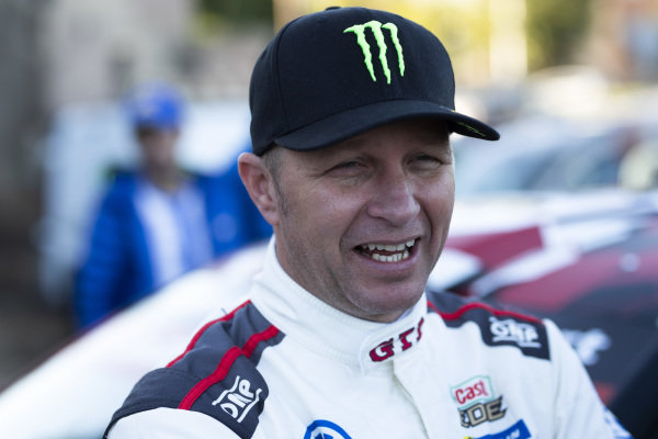 A one-off return for Petter Solberg driving Volkswagen's brand new R5 Polo. Petter Solberg, Volkswagen Motorsport, Volkswagen Polo GTI R5,