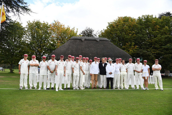 Goodwood Revival Cricket Match Teams