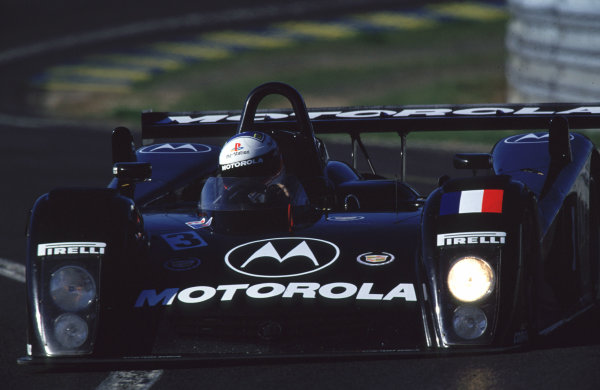 2000 Le Mans Pre-Qualifying.Le Mans, France.29-30 April 2000.Eric Bernard/Emmanuel Collard/Franck Montagny (DAMS Cadillac Northstar LMP).World - Bellanca/LAT Photographic