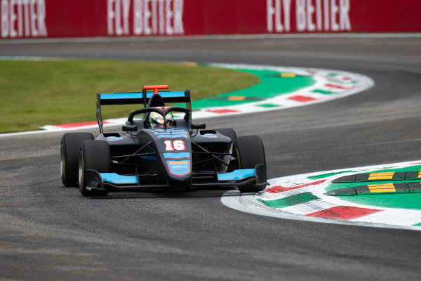 AUTODROMO NAZIONALE MONZA, ITALY - SEPTEMBER 06: Andreas Estner (DEU, Jenzer Motorsport) during the Monza at Autodromo Nazionale Monza on September 06, 2019 in Autodromo Nazionale Monza, Italy. (Photo by Joe Portlock / LAT Images / FIA F3 Championship)