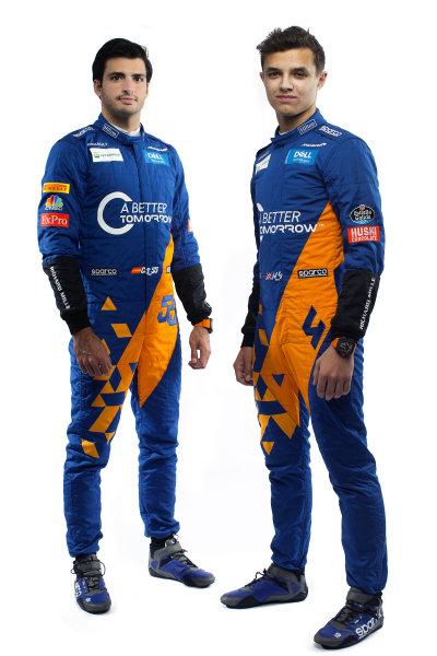 Carlos Sainz Jr, McLaren and Lando Norris, McLaren