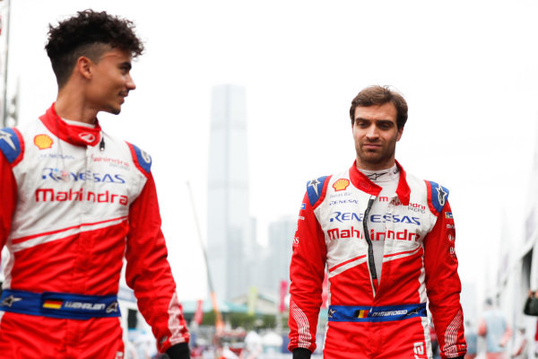 Pascal Wehrlein (DEU), Mahindra Racing and Jérôme d'Ambrosio (BEL), Mahindra Racing