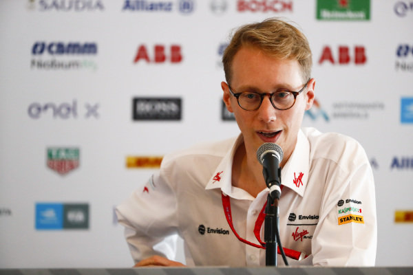 Sylvain Filippi, Managing Director & CTO, Virgin Racing, in the press conference