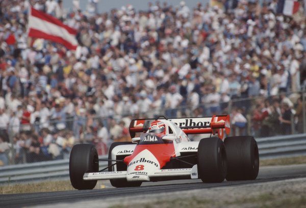 Niki Lauda, McLaren MP4-2 TAG.