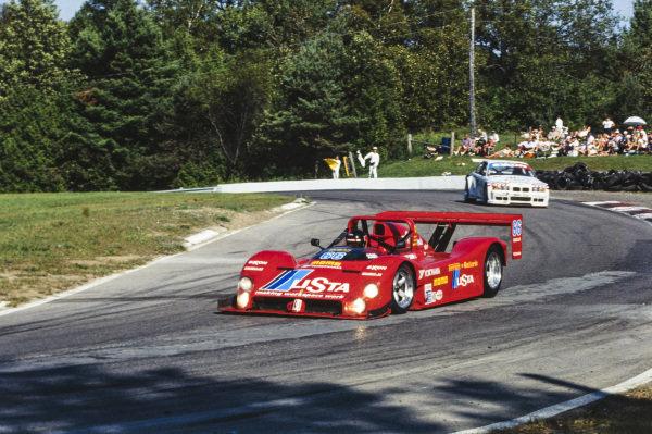 Gianpiero Moretti / Didier Theys / Max Papis / Gerry Jackson, Landshark Racing, Ferrari 333 SP.