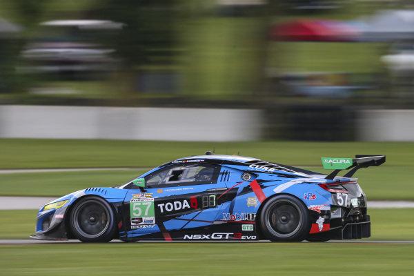 #57 Heinricher Racing w/MSR Curb-Agajanian Acura NSX GT3, GTD: Alvaro Parente, Misha Goikhberg