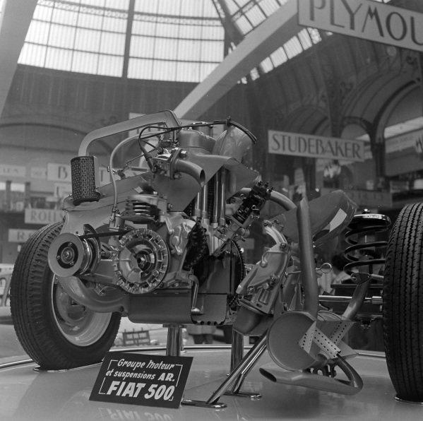Fiat Nuova 500 Flat-twin engine
