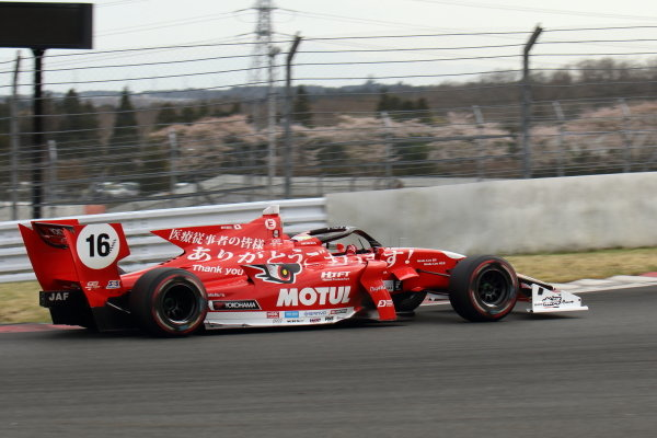 Winner Tomoki Nojiri ( #16 TEAM MUGEN, Dallara SF19 Honda)