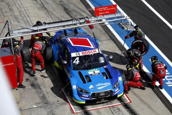 Robin Frijns, Audi Sport Team Abt Sportsline, Audi RS5 DTM, pitstop.
