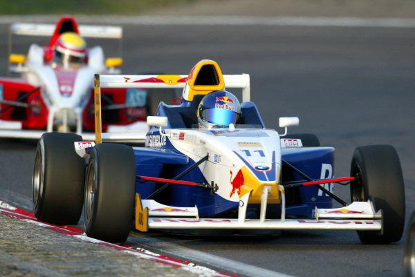 Sebastian Vettel (GER), Eifelland Racing, finished third. Formula BMW ADAC Championship, Rd18, Zandvoort, Holland. 21 September 2003.  DIGITAL IMAGE