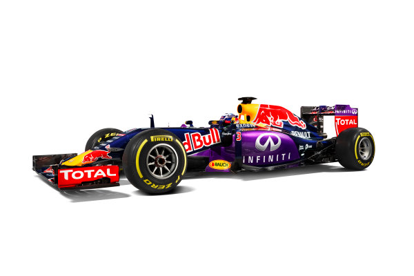 Infiniti Red Bull Racing RB11 Studio Images. Milton Keynes, UK. Sunday 1 March 2015. The Red Bull Racing RB11. Photo: Red Bull Racing (Copyright Free FOR EDITORIAL USE ONLY) ref: Digital Image RB11_LIVERY_16