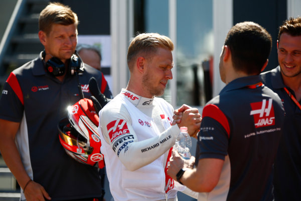 Monte Carlo, Monaco. Sunday 28 May 2017. Kevin Magnussen, Haas F1. World Copyright: Andrew Hone/LAT Images ref: Digital Image _ONY1993