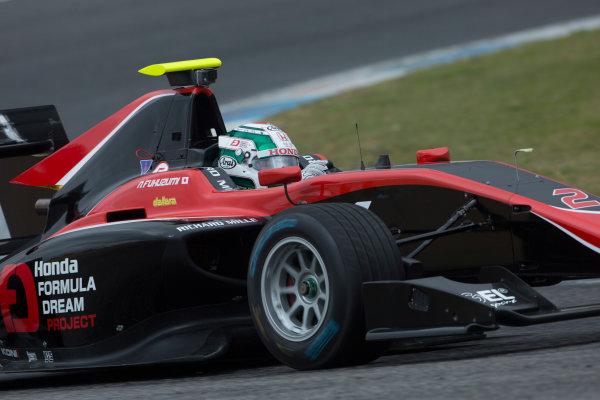 2017 GP3 Series Testing Estoril, Portugal. Wednesday 22 March 2017 Nirei Fukuzumi (JAP, ART Grand Prix. Action.  Photo: Alastair Staley/GP3 Series Media Service ref: Digital Image 585A1177