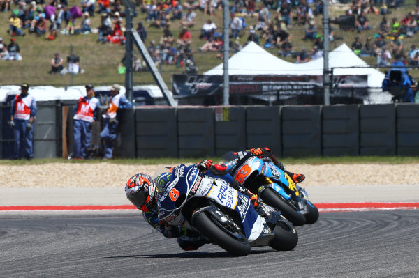 2017 MotoGP Championship - Round 3 Circuit of the Americas, Austin, Texas, USA Sunday 23 April 2017 Hector Barbera, Avintia Racing World Copyright: Gold and Goose Photography/LAT Images ref: Digital Image MotoGP-R-500-3029