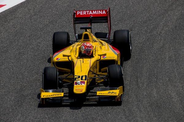2017 FIA Formula 2 Round 1. Bahrain International Circuit, Sakhir, Bahrain.  Friday 14 April 2017. Norman Nato (FRA, Pertamina Arden)  Photo: Zak Mauger/FIA Formula 2. ref: Digital Image _56I9266
