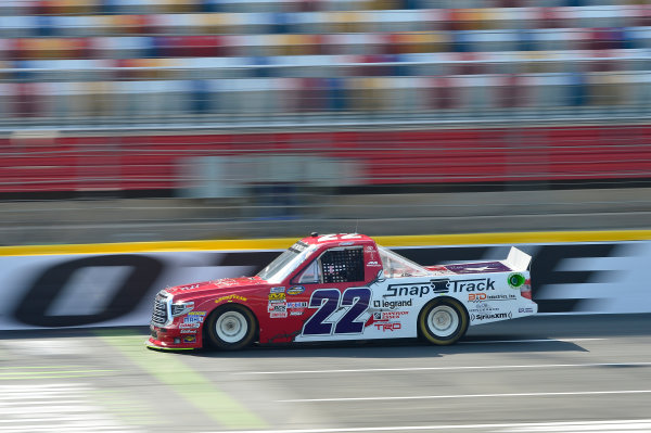 NASCAR Camping World Truck Series North Carolina Education Lottery 200 Charlotte Motor Speedway, Concord, NC USA Thursday 18 May 2017 Austin Self, Accu-Tech\Snap Track\Don't Mess With Texas Toyota Tundra World Copyright: John K Harrelson LAT Images ref: Digital Image 17CLT1jh_00092