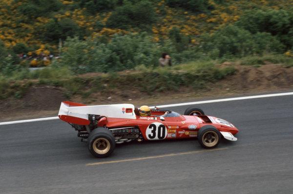 1972 French Grand Prix.  Clermont-Ferrand, France. 30th June - 2nd July 1972.  Nanni Galli, Ferrari 312B2, 13th position.  Ref: 72FRA17. World Copyright: LAT Photographic