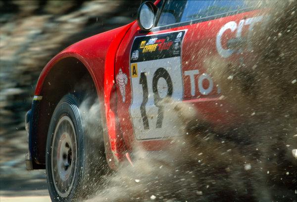 2003 World Rally ChampionshipRally of Cyprus, Cyprus. 19th - 22nd June 2003.Carlos Sainz/Marc Marti (Citroen Xsara), action.World Copyright: McKlein/LAT Photographicref: 03WRCCyprus18