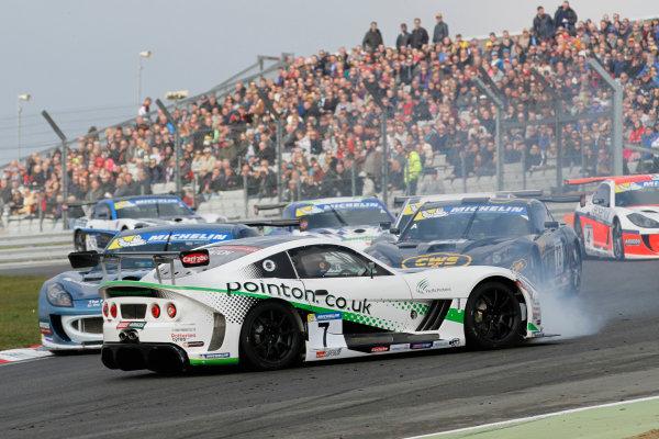 Ginetta GT4 Supercup, Brands Hatch, 2-3 April 2016. Callum Pointon (GBR) TCR Ginetta G55  World copyright. Ebrey/LAT Photographic
