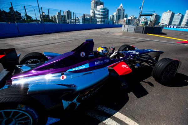 2015/2016 FIA Formula E Championship. Testing, Punta del Este, Uruguay. Sunday 20 December 2015. Jean-Eric Vergne (FRA), DS Virgin Racing DSV-01. Photo: Zak Mauger/LAT/Formula E ref: Digital Image _L0U0299