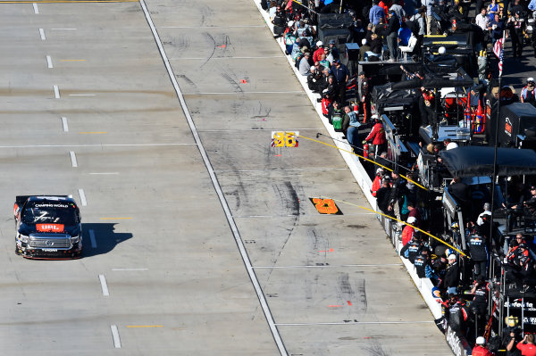 1-2 April, 2016, Martinsville, Virginia USA Christopher Bell (4) heads down pit road. ?2016, John Harrelson / LAT Photo USA