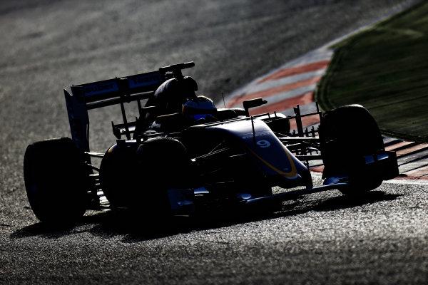 Circuit de Catalunya, Barcelona, Spain Tuesday 23 February 2016. Marcus Ericsson, Sauber C35 Ferrari.  World Copyright: Glenn Dunbar/LAT Photographic ref: Digital Image _89P4580