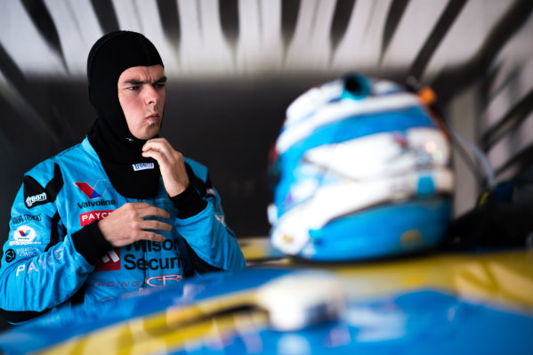 2015 V8 Supercars Round 12. Auckland 500, Pukekohe Park Raceway, Auckland, New Zealand. Friday 6th November - Sunday 8th November 2015. Scott McLaughlin driver of the #33 Wilson Security Racing GRM Volvo. World Copyright: Daniel Kalisz/LAT Photographic  Ref: Digital Image V8SCR12_AUCKLAND500_DKIMG0703.JPG