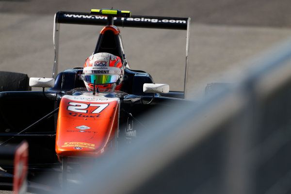 2015 GP3 Series Round 6. Autodromo di Monza, Italy. Sunday 6 September 2015. Luca Ghiotto (ITA, Trident)  World Copyright: Sam Bloxham/LAT Photographic. ref: Digital Image _SBL3701