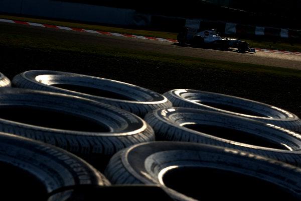 Suzuka Circuit, Suzuka, Japan.7th October 2011.Sergio Perez, Sauber C30 Ferrari. Action. World Copyright: Andy Hone/LAT Photographicref: Digital Image CSP24146