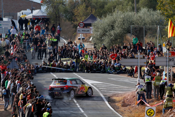 Round 12-Rally Spain. 20th-23th October 2011.Juho Hanninen, Skoda S2000, Action.Worldwide Copyright: McKlein/LAT