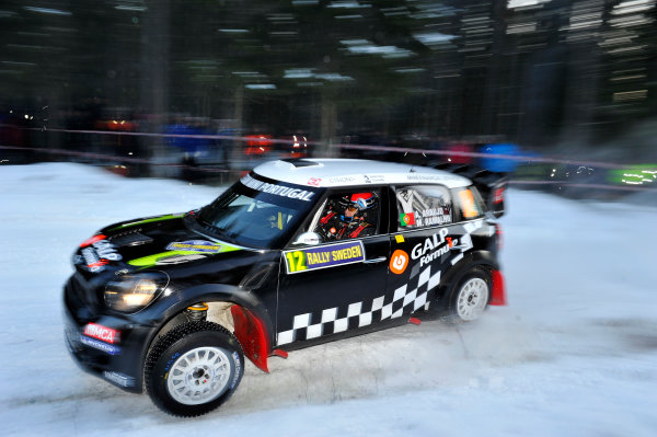 Round 02 - Rally Sweden 09-12 February 2012. Armindo Araujo, Mini WRC, Action  Worldwide Copyright: McKlein/LAT