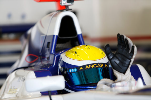 2014 GP3 Series Test 2. Jerez, Spain  Friday 11 April 2014. Santiago Urrutia (URU, Koiranen GP)  Photo: Sam Bloxham/GP3 Series Media Service. ref: Digital Image _SBL1506