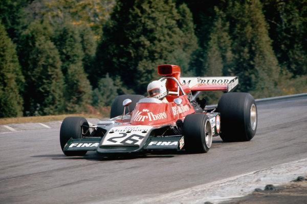1973 Canadian Grand Prix.  Mosport Park, Ontario, Canada. 21st-23rd September 1973.  Tim Schenken, Williams IR01 Ford.  Ref: 73CAN50. World Copyright: LAT Photographic