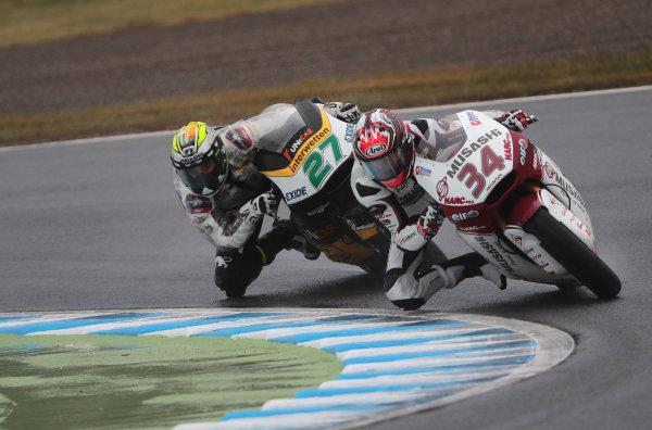 2017 Moto2 Championship - Round 15 Motegi, Japan. Sunday 15 October 2017 Ryo Mizuno World Copyright: Gold and Goose / LAT Images ref: Digital Image 698119