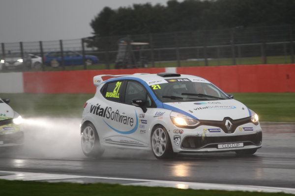 2017 Renault Clio Cup, Silverstone, Northants, UK. 16th-17th September 2017 Mike Bushell (GBR) Team Pyro Renault Clio Cup World copyright. JEP/LAT Images