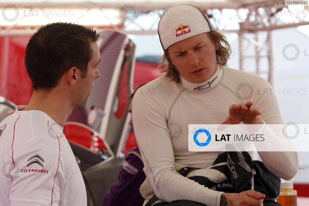Round 03-Rally Portugal. 23th-27th March 2011.Kimi Raikkonen, Citroen WRC, Portrait.Worldwide Copyright: McKlein/LAT