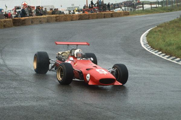 Zandvoort, Holland. 21-23 June 1968.  Chris Amon (Ferrari 312) 6th position.  Ref: 68HOL21. World Copyright: LAT Photographic