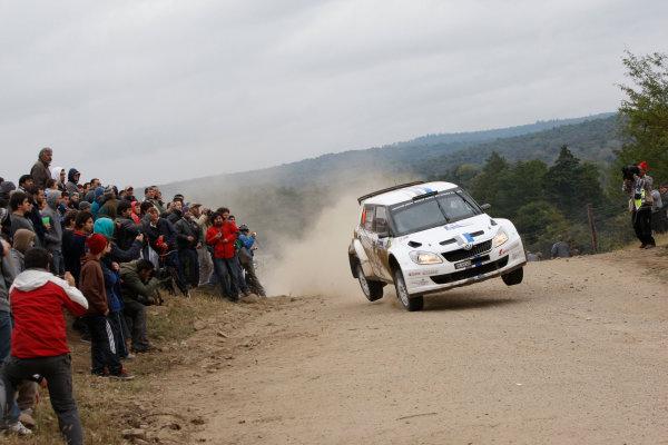 Round 05, Rally Argentina26th - 29th April 2012Andreas Mikkelsen, Skoda, VW, actionWorldwide Copyright: McKlein/LAT